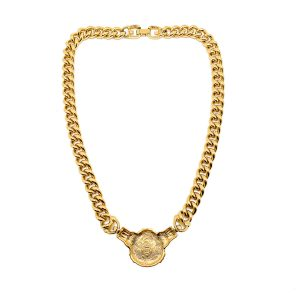 Vintage Givenchy Coin Necklace