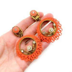 Vintage Selro Statement Earrings