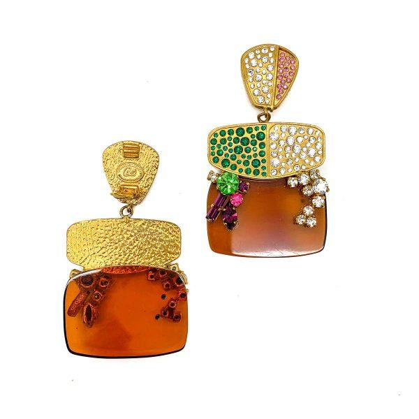 Vintage Christian Lacroix Earrings
