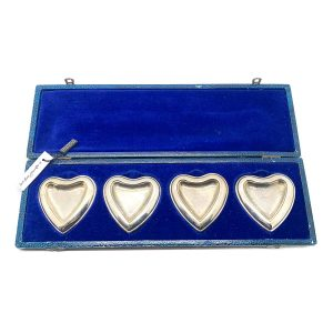 Vintage Dior Heart Ring Trays
