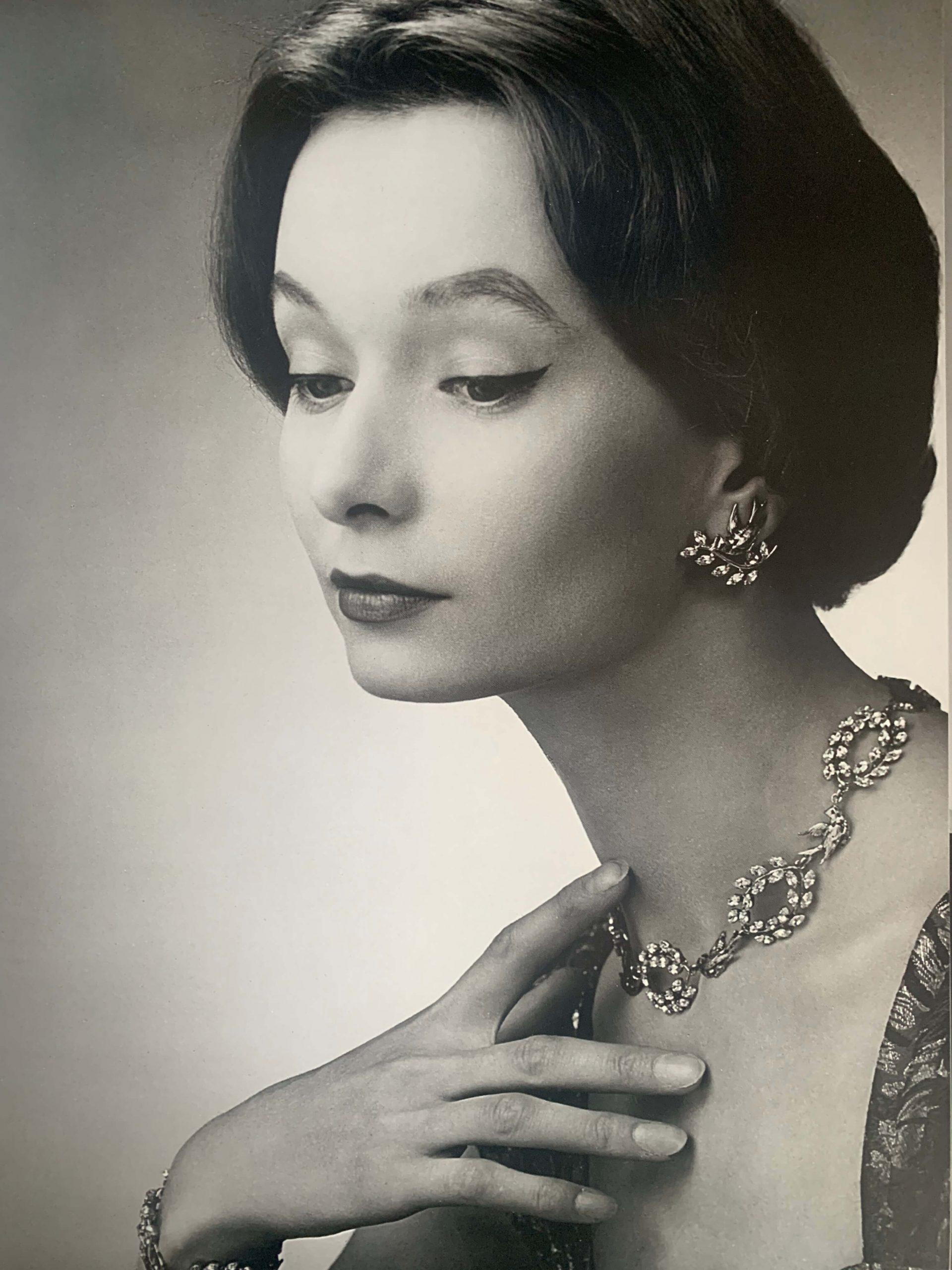 Christian Dior Bal Des Oiseaux Model Image 1950s