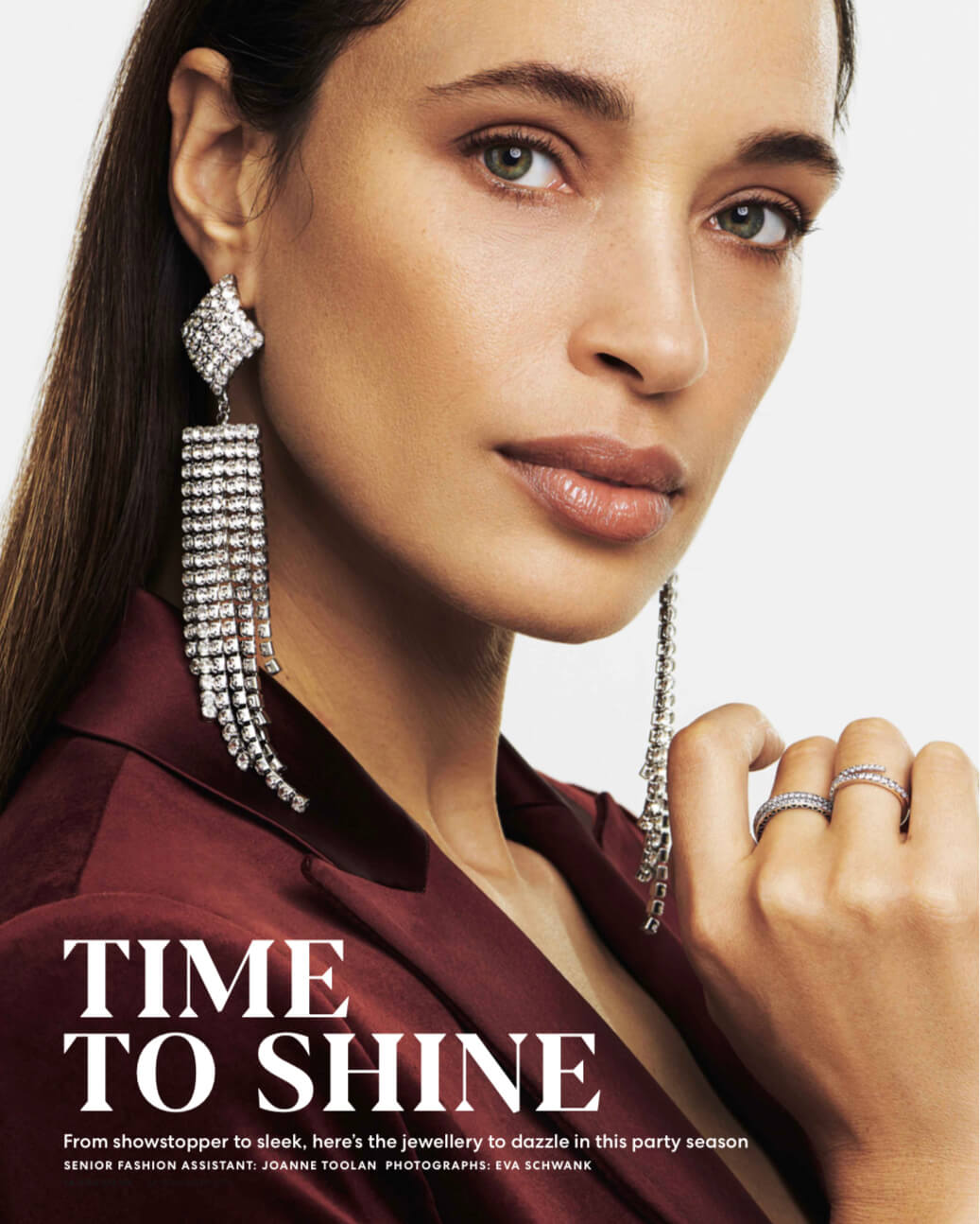 YOU MAGAZINE TIME TO SPARKLE LUX JEWELLERY FEATURE NOV 2019