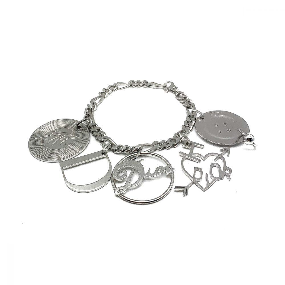 Vintage Dior Retro Charm Bracelet