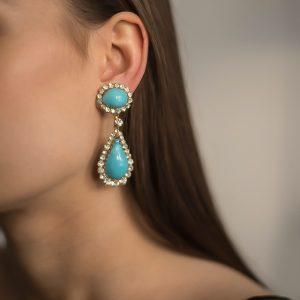 Vintage Maison Gripoix Earrings