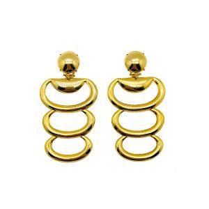 Vintage Hoop Layer Earrings