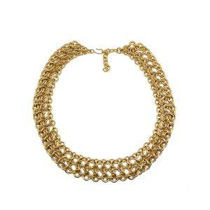 Vintage Monet Chain Link Necklace