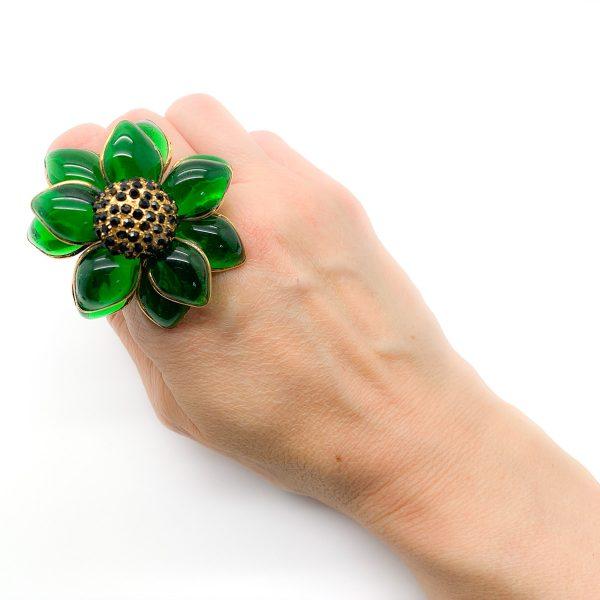 Vintage Barbara Bui Gripoix Ring
