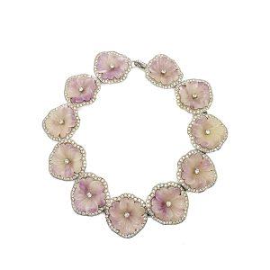 Vintage KJL Floral Collar