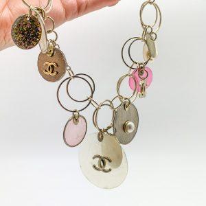 Vintage Chanel Capiz Necklace