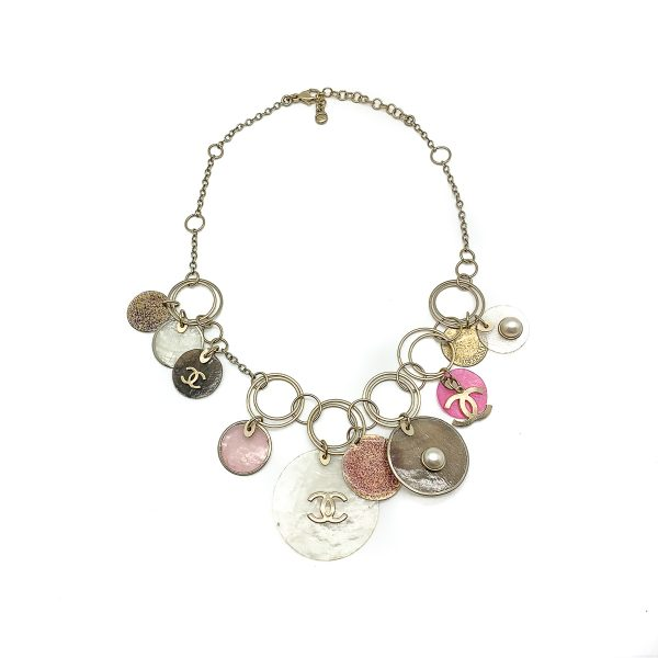 Vintage Chanel Capiz Necklace