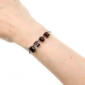 Vintage Dior Letter Bracelet