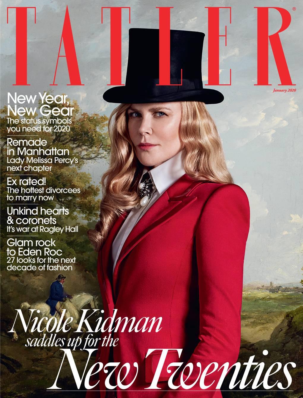 Nicole Kidman Tatler January 2020