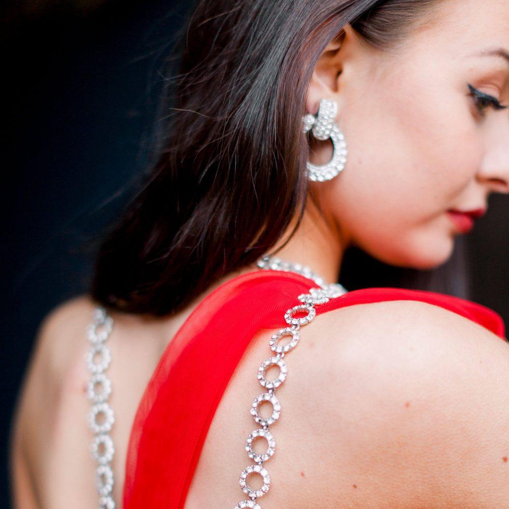 Vintage Dior Hoop Earrings Vintage Ciner Necklace Jennifer Gibson Jewellery