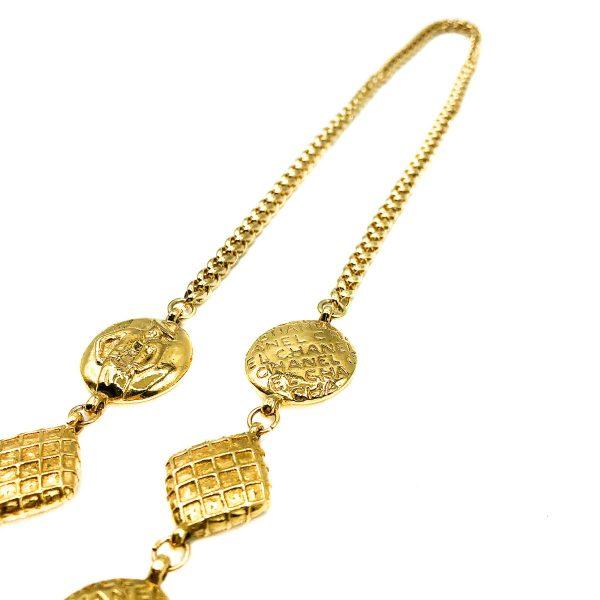 Vintage Chanel Coco Rope Necklace