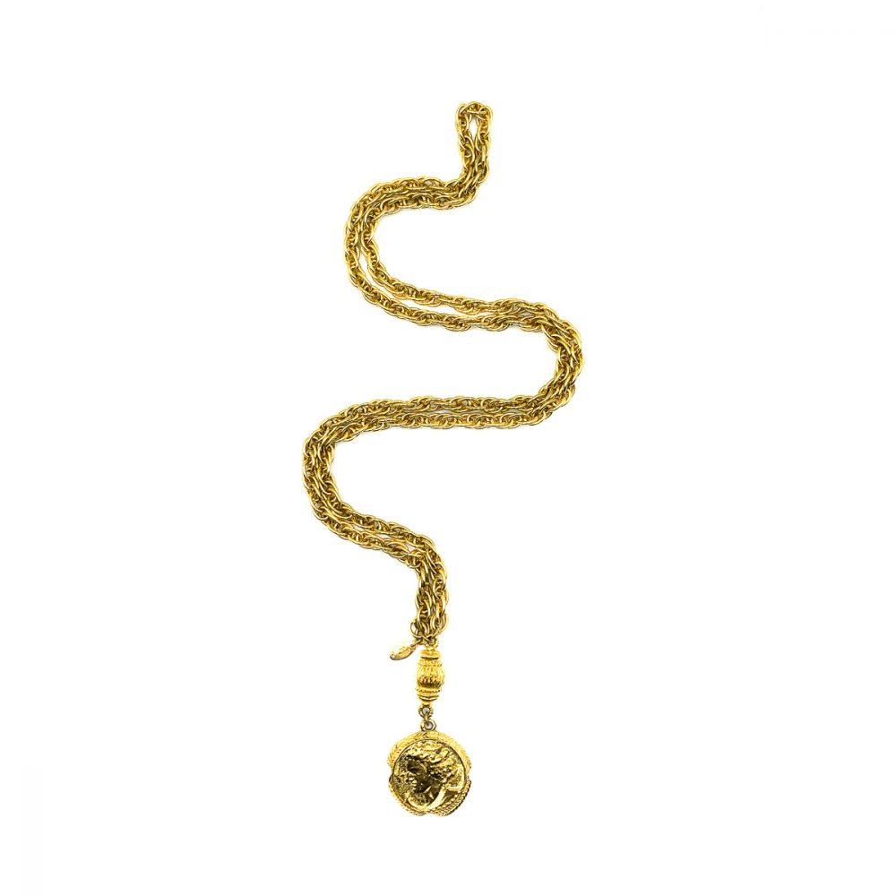 Vintage Chanel Medallion Necklace