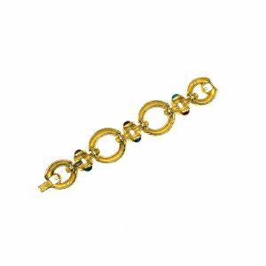 Vintage Givenchy Jewelled Bracelet