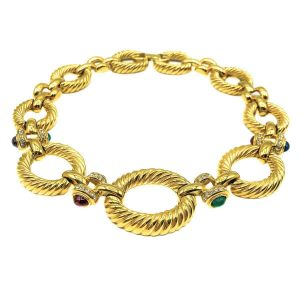 Vintage Givenchy Jewelled Collar