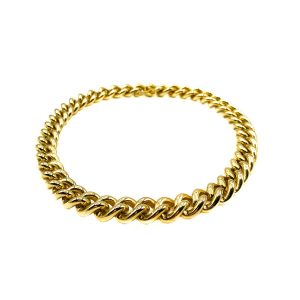 Vintage Gold Curb Chain