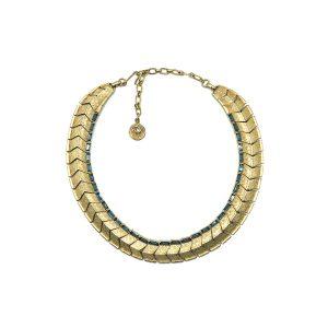 Vintage Lisner Sapphire Collar