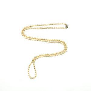 Vintage Pearl Opera Necklace