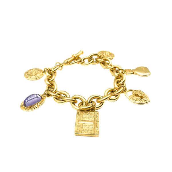 Vintage Vanderbilt Charm Bracelet