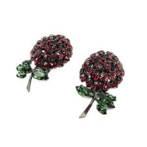 Vintage Warner Strawberry Earrings