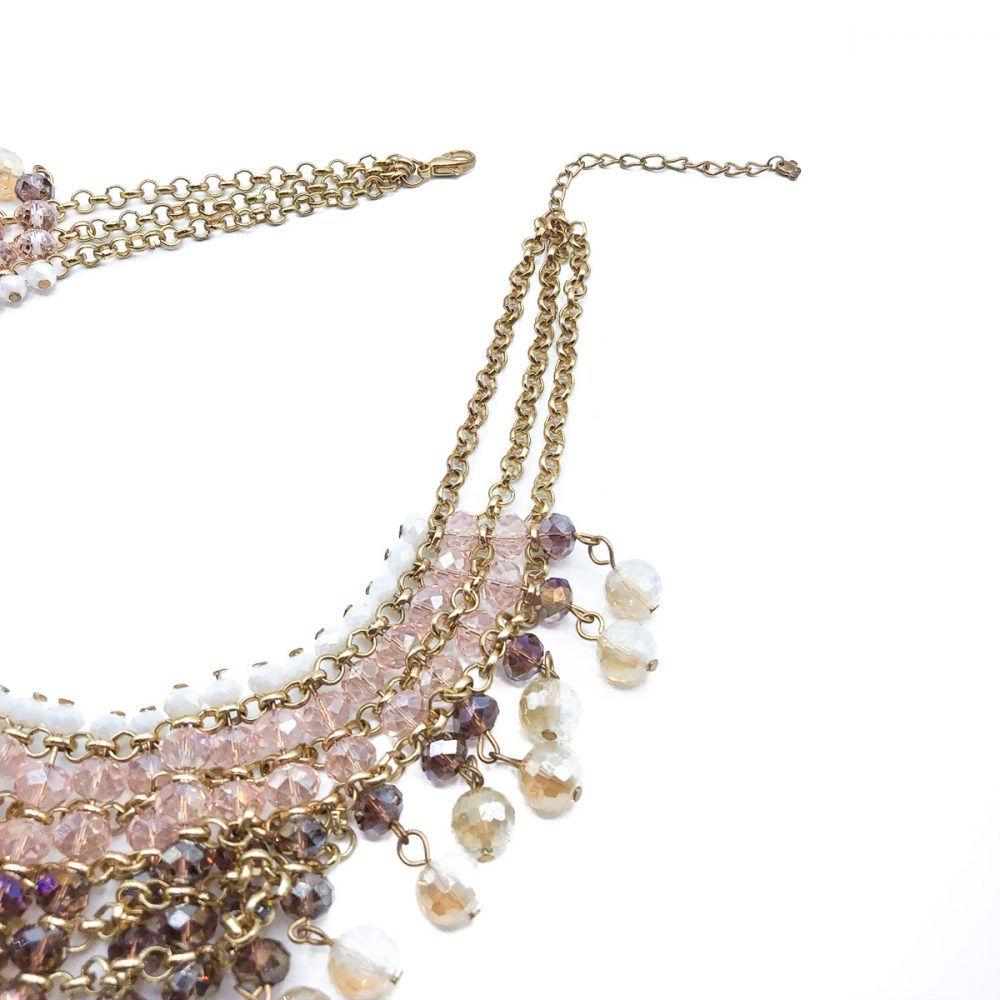Pastel Glass Collar
