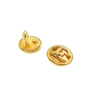 Vintage Chanel CC Logo Earrings
