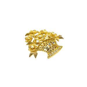 Vintage Dior Flower Brooch