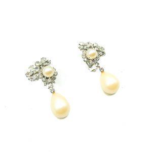 Vintage Dior Pearl Earrings