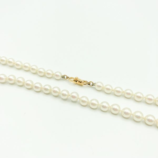 Vintage Dior Pearl Necklace