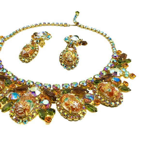 Vintage Juliana Easter Egg Necklace