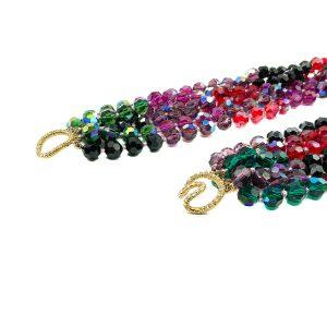 Vintage Rainbow Torsade Collar