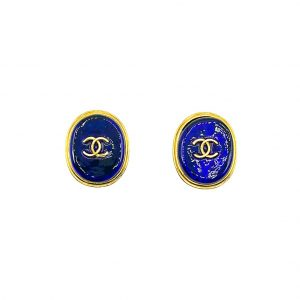 Vintage Vintage Chanel Gripoix Earrings