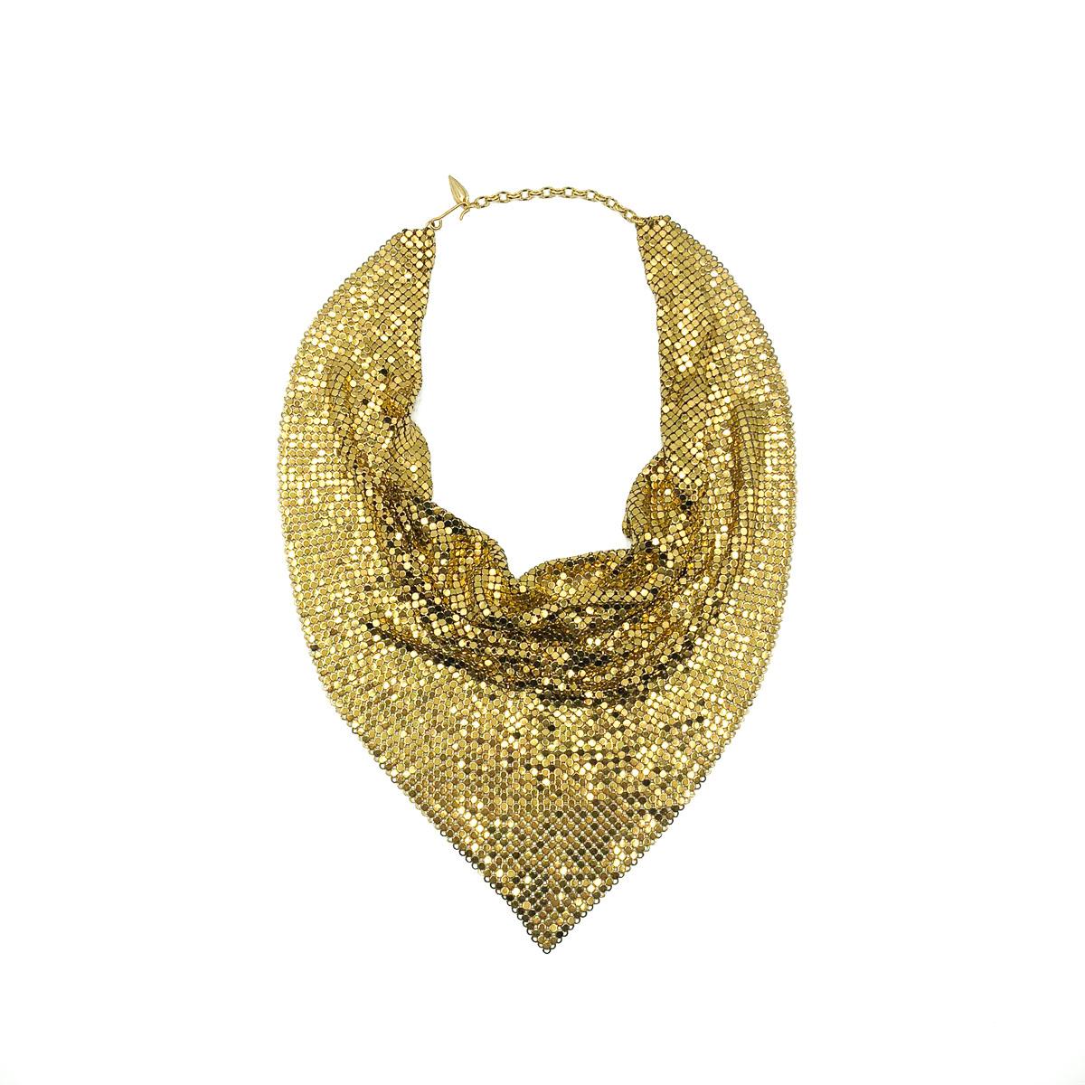 Details about  /Vintage Designer Whiting /& Davis Egyptian Revival Necklace