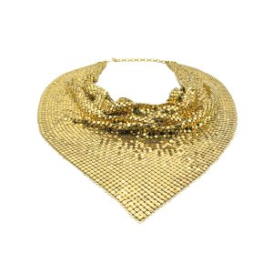 Vintage Whiting and Davis Scarf Necklace