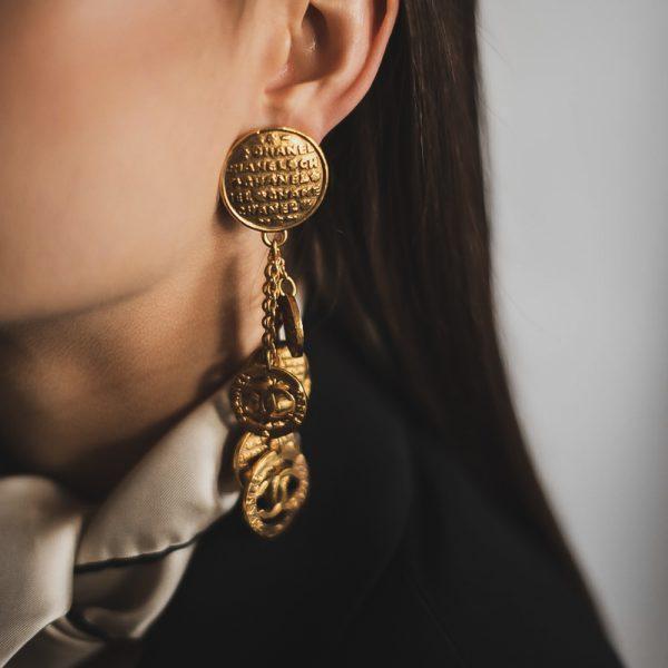 Vintage Chanel Earrings Jennifer Gibson Jewellery