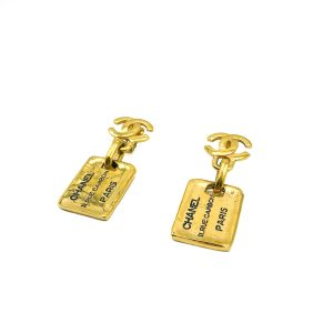 Vintage Chanel Rue Cambon Earrings