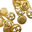 Vintage Chanel Tumbling Logo Earrings