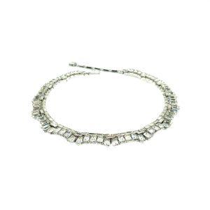 Vintage Crown Trifari Deco Necklace