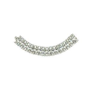 Vintage Weiss Cocktail Bracelet