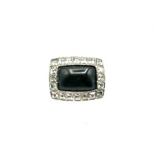 Vintage Chanel Monochrome Ring