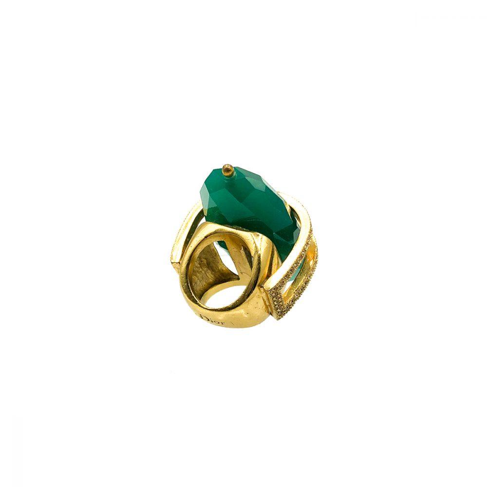 Vintage Christian Dior Cocktail Ring