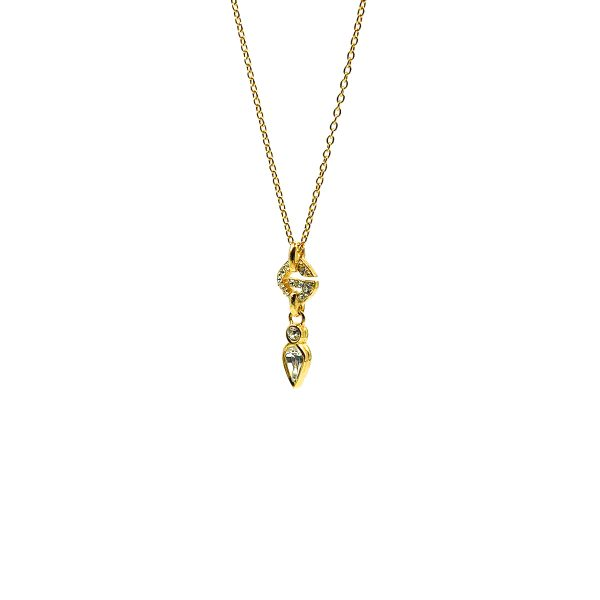 Vintage Givenchy G Necklace
