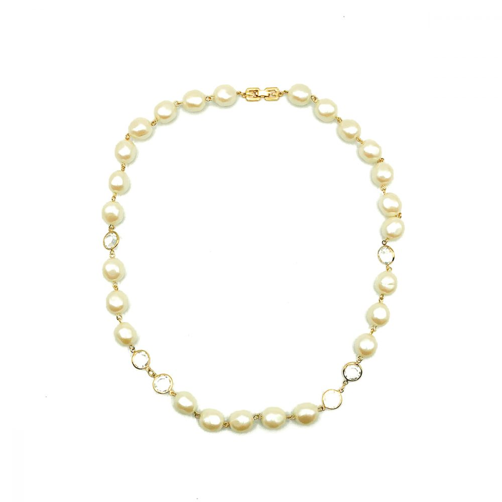 Vintage Givenchy Pearl Necklace