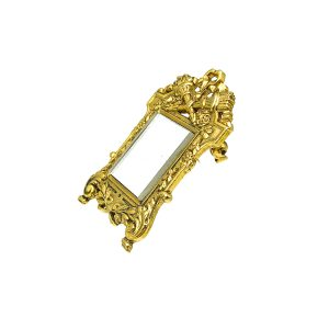 Vintage Miniature Mirror Brooch