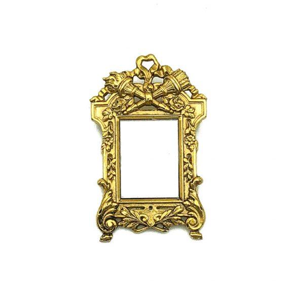 Vintage Miniature Mirror Brooch