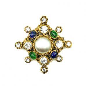 Vintage Chanel Cruciform Brooch