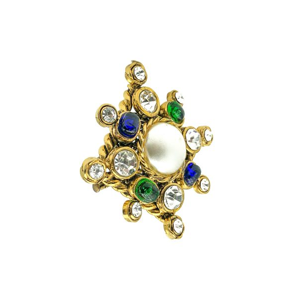 Vintage Chanel Cruciform Brooch