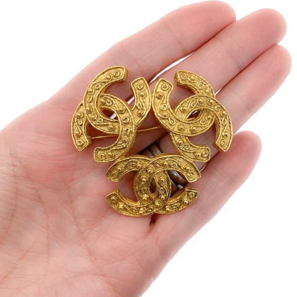 Vintage Chanel Trio Brooch